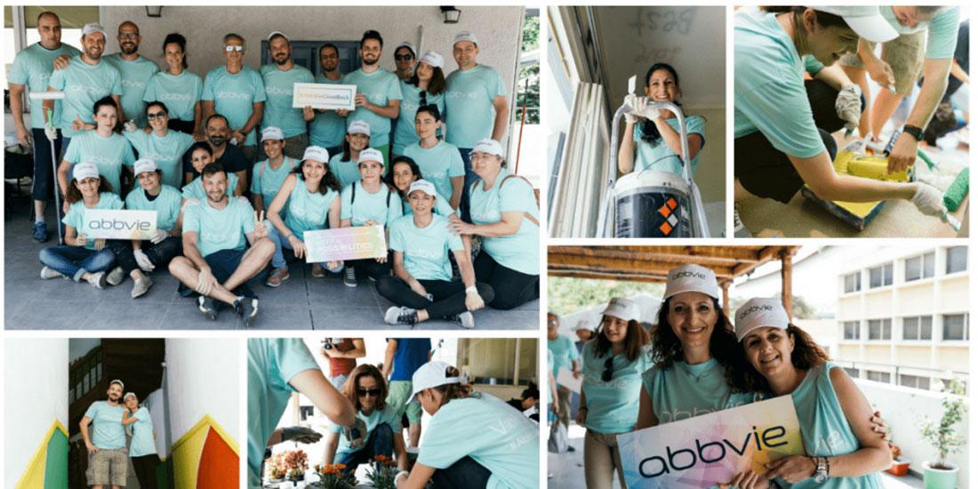«Week of Possibilities»: Η AbbVie γιορτάζει την 5η επέτειο του παγκόσμιου προγράμματος εθελοντισμού