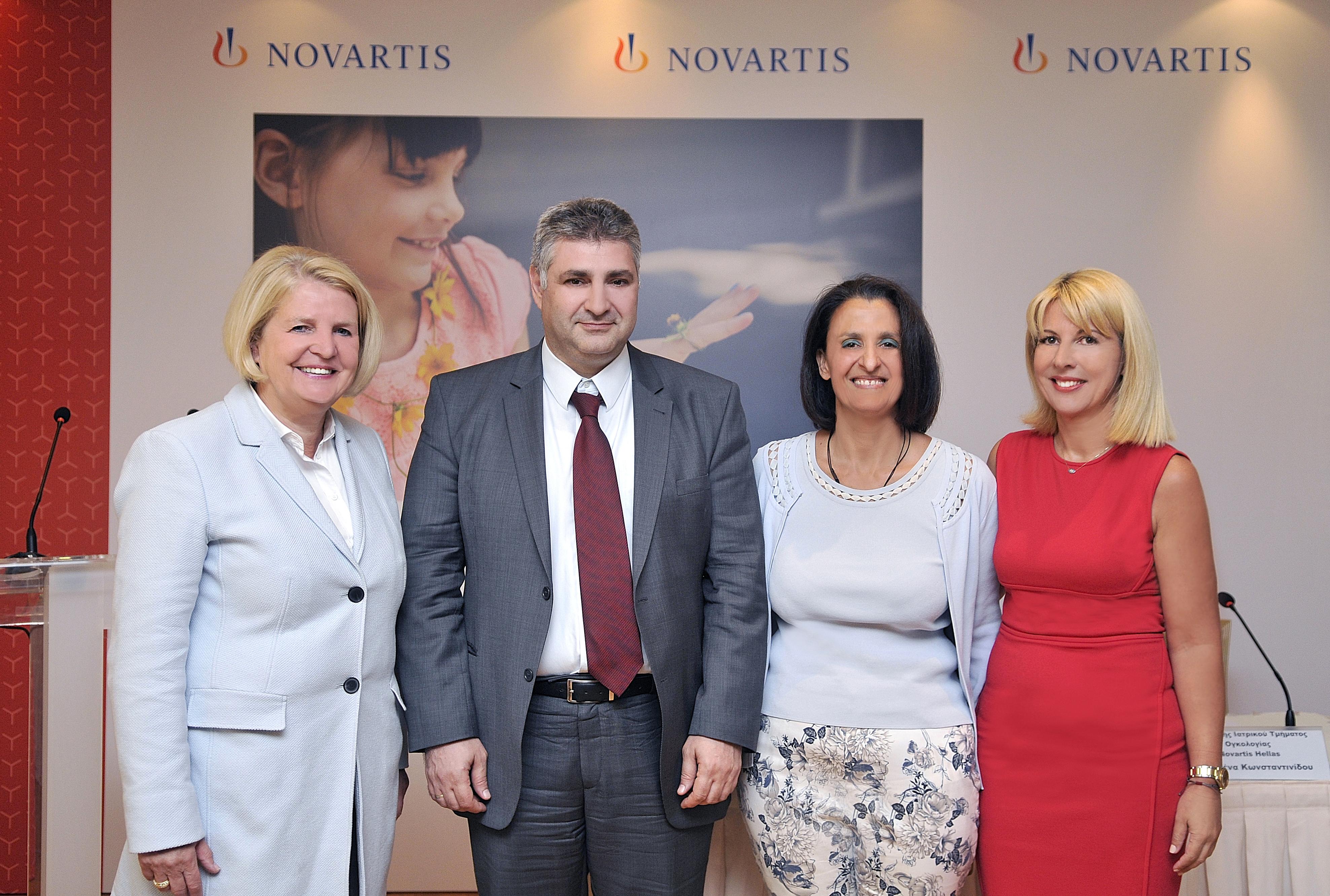 Παρουσίαση της Έκθεσης Εταιρικής Υπευθυνότητας της Novartis Hellas για τη διετία 2016-2017