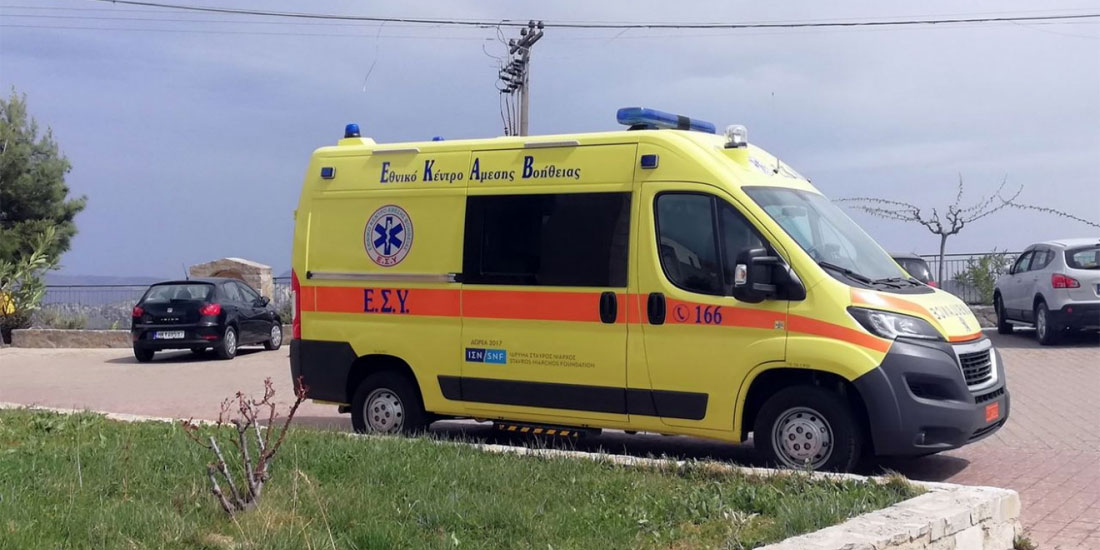 Δωρεά υπερσύγχρονου ασθενοφόρου στο Κέντρο Υγείας Γαλατά, από τον πρώην πρόεδρο του ΣΕΒ Οδυσσέα Κυριακόπουλο