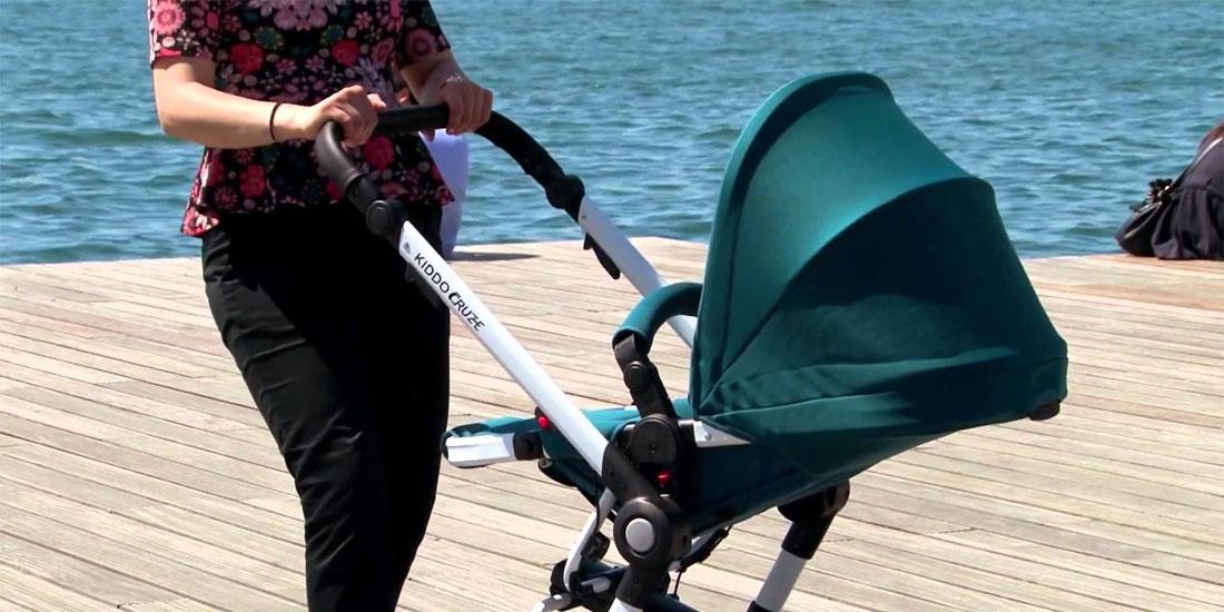 Τα μωρά στα καροτσάκια είναι εκτεθειμένα σε έως 60% περισσότερη ατμοσφαιρική ρύπανση