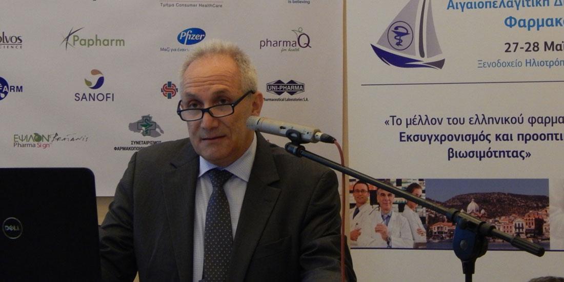 Απ. Βαλτάς: Υπάρχει άλλος τρόπος να λυθούν όλα τα ζητήματα που αφορούν τη σχέση  ιατρών και φαρμακοποιών