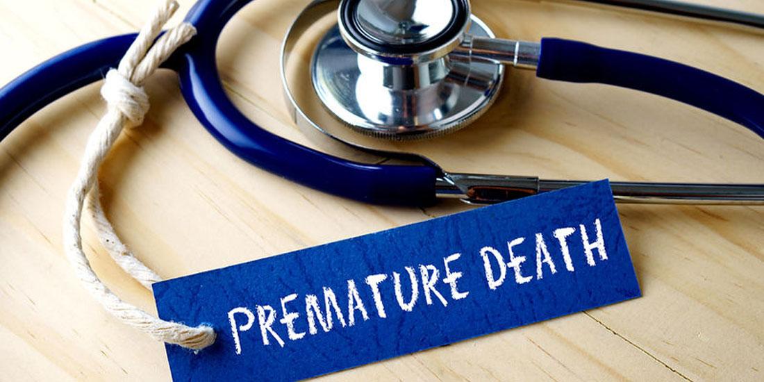 Δύσκολη η μείωση των πρόωρων θανάτων παγκοσμίως