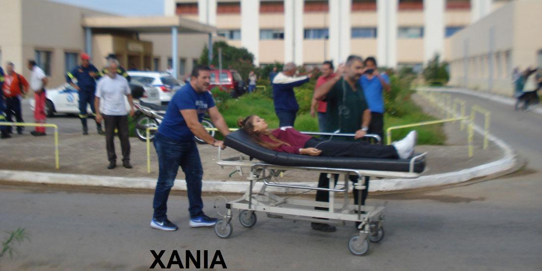 Ασκήσεις ετοιμότητας σε νοσοκομεία της Κρήτης