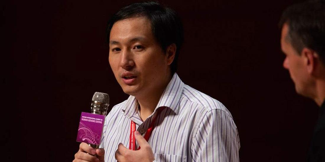 «Παύση» στις έρευνές του ανακοίνωσε ο Κινέζος γενετιστής Χε